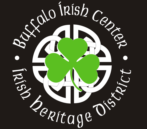 Buffalo Irish Center Retina Logo